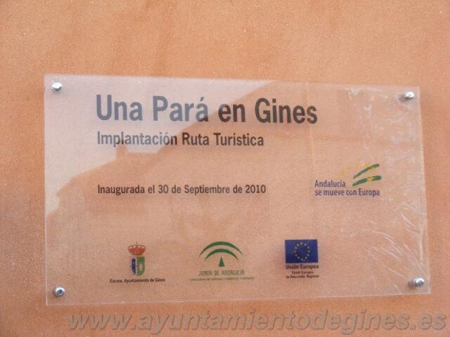 """El Ayuntamiento prepara ya la cuarta edición de """"Una Pará en Gines"""""""