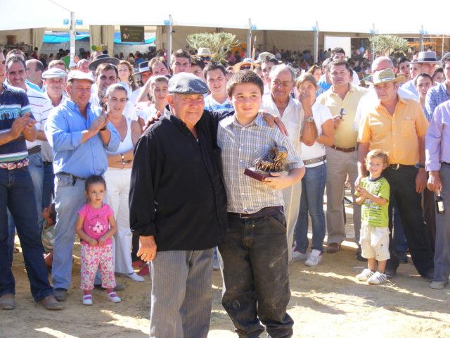 El Concurso de Yuntas y Carreteros se llamará por primera vez Antonio Posada