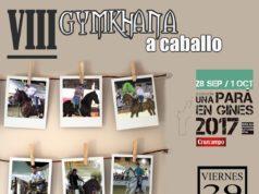 La Gymkhana Ecuestre abrirá la tarde del viernes en Una Pará en Gines 2017
