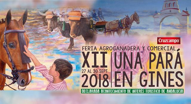 Cartel Una Pará en Gines 2019 - versión horizontal