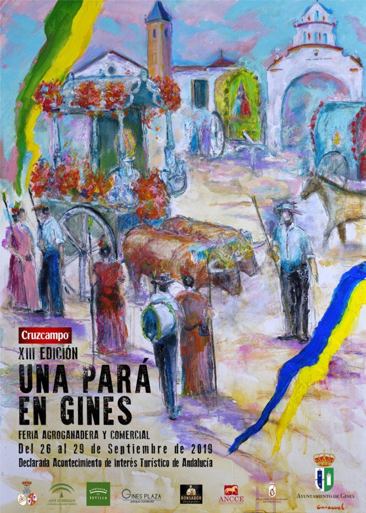 Cartel anunciador La Pará 2019