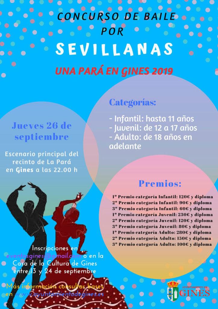 Concurso de Sevillanas - La Pará 2019 - Gines