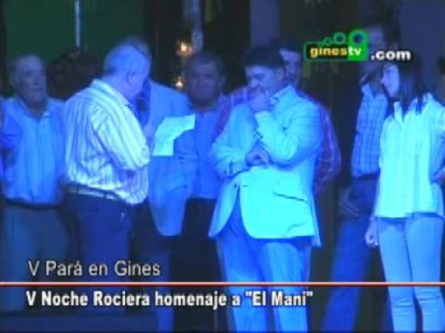 Homenaje al Mani en la Noche Rocier...