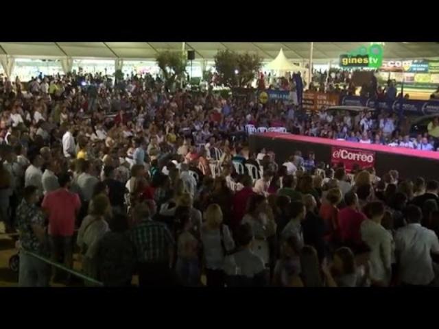 Más de 50.000 personas celebran el décimo aniversario de 'Una Pará en Gines'