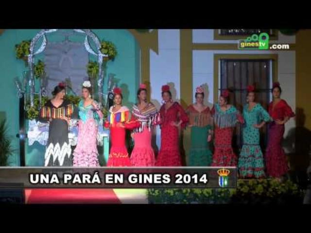 """Desfile de Moda Flamenca de """"Pol N..."""