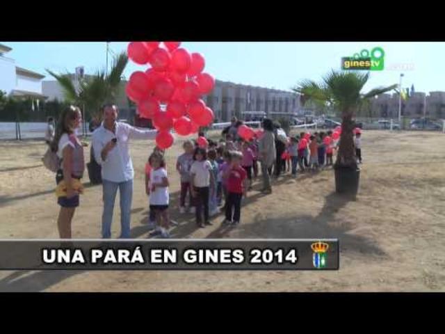 Los colegios visitan Una Pará en Gines...